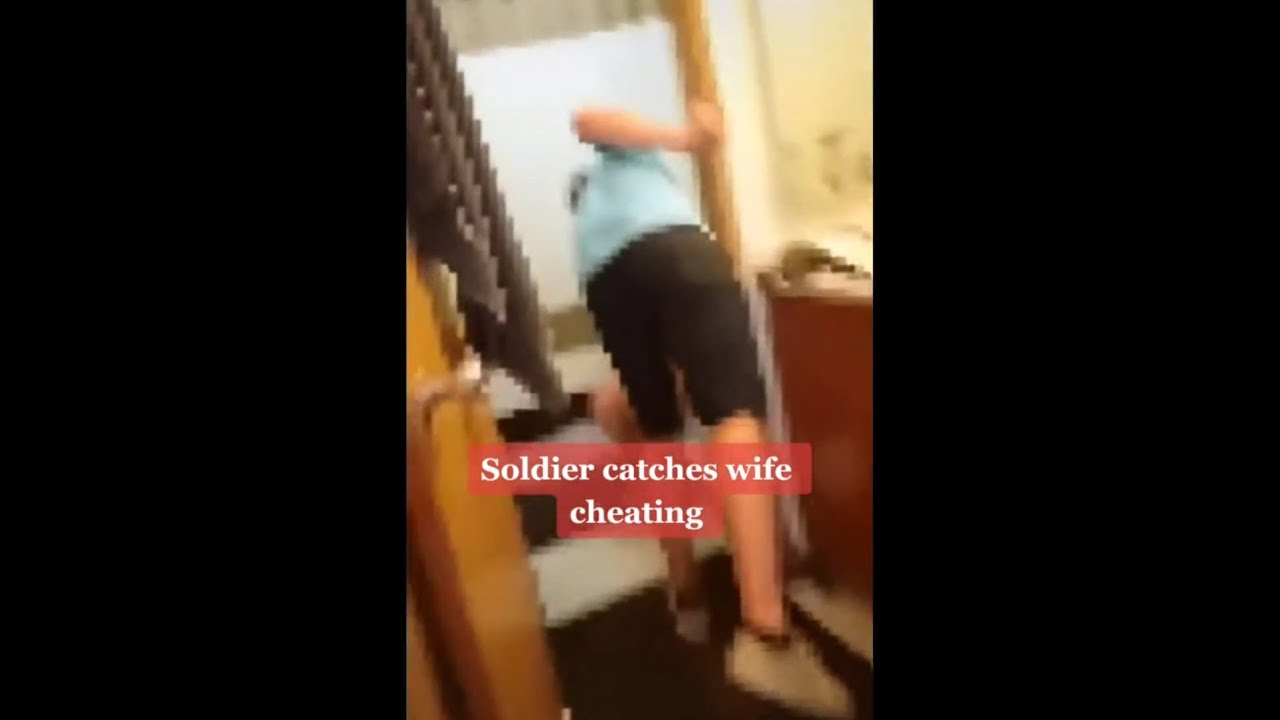 cheating wife gets caught