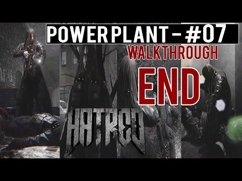 "HATRED Walkthrough (FULL) - Part 7 ENDING ""Power Plant"" Gameplay ULTRA 1080p60fps"