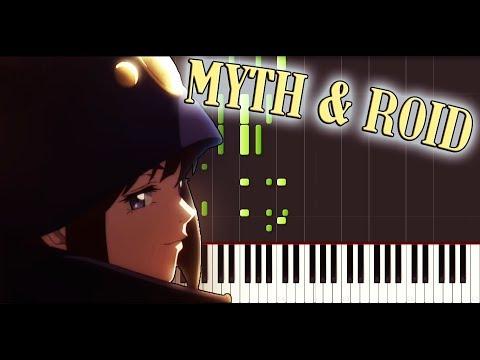 Boogiepop wa warawanai (2019) OP - Shadowgraph by MYTH & ROID [Piano tutorial + SHEETS] // Synthesia