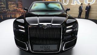 GENEVA 2019: Mașina lui Putin! Noul AURUS Senat - prima impresie!