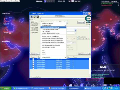 Defcon hack whid Cheat Engine 5 4
