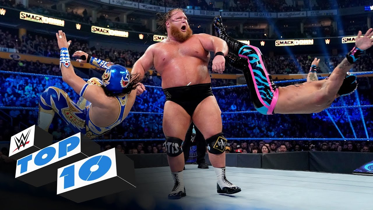 Top 10 Friday Night Smackdown Moments Wwe Top 10 Mar 6 2020 Youtube