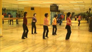 Dancing Heart - Line Dance (Demo & Walk-Thru)