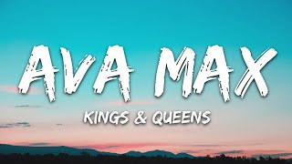 Download song Ava Max - Kings & Queens (Lyrics)