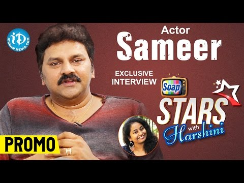 Actor Sameer Exclusive Interview PROMO    Soap Stars With Harshini #3