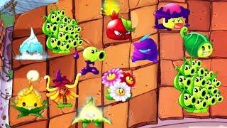 WEIRD PLANT CHALLENGE!?   Plants VS Zombies 2