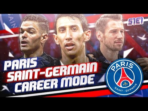 FIFA 16 PSG Career Mode - S1E1 - Eden Hazard to PSG?!