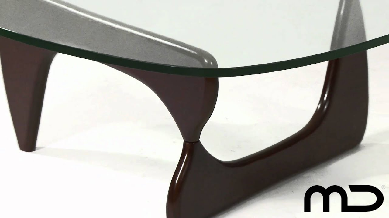 Noguchi Coffee Table Walnut Replica from Milan Direct
