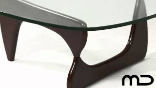 Noguchi Coffee Table - Walnut - Replica From Milan Direct Australia