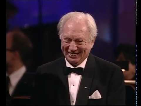Isaac Stern receiving the Polar Music Prize