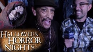 Halloween Horror Nights w/ Danny Trejo- El Cucuy Maze Walkthrough 2013