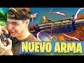 Jugando Con *nueva Escopeta Legendaria* En Fortnite!  Nuevo Arma En Battle Royal