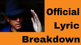 THE DISSED TRACK - DISS THE DISS TRACKS (OFFICIAL LYRIC BREAKDOWN)