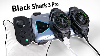 The Future of Gaming Phones? (or gone too far) Unboxing Black Shark 3 Pro