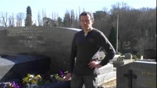 Tombe de Maurice Chevalier au cimetière de Marnes-La-Coquette