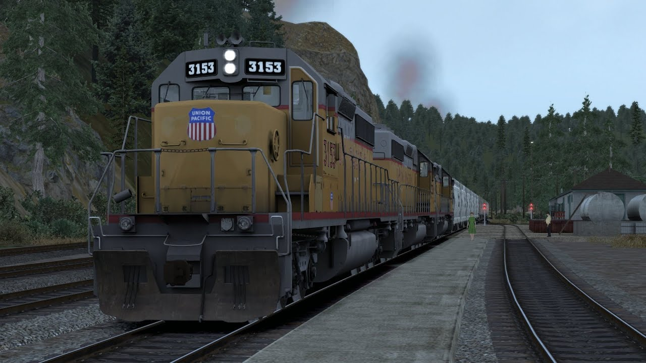Train Simulator Feather River Canyon Scenario Pack 1 Up Sd40 2 9