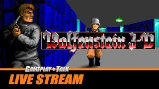 Gameplay and Talk Live Stream - Wolfenstein 3D (PC) | EC Wolf Source Port!