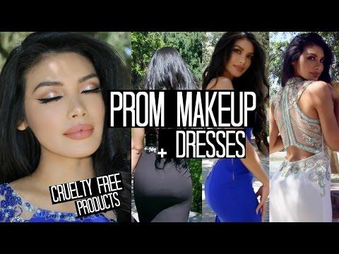 Prom Makeup + 3 dresses | 2017