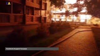 """Троє дітей загинули під час пожежі у дитячому таборі """"Вікторія"""" в Одесі."""