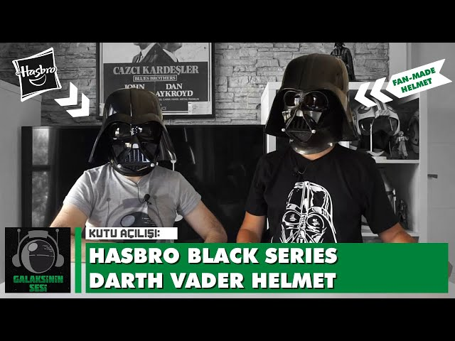 Unboxing & Review : Hasbro Star Wars The Black Series Darth Vader Helmet