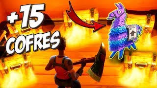 MEJOR LUGAR PARA CAER EN FORTNITE + 15 COFRES y SCAR | Fortnite: Battle Royale | Blue Nessie