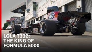 Driving A Lola T332 Formula 5000 Race Car At Donington - Autosport Drives