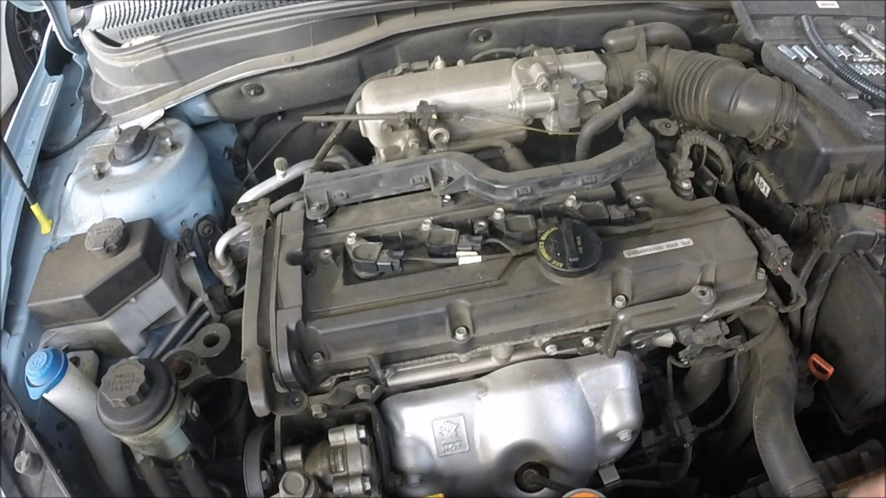 medium resolution of spark plugs and coil pack harness fix on 2009 hyundai accent