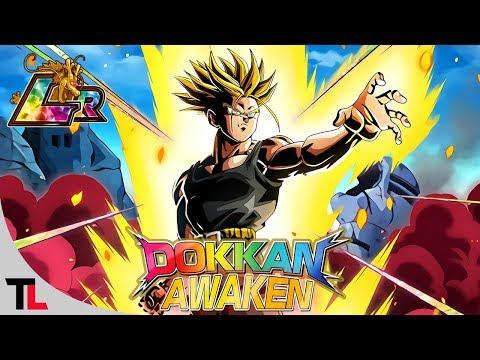 O Longo Farm do LR Trunks Future AGL! Dokkan Awaken e Comentando Sobre o Card | DBZ Dokkan Battle