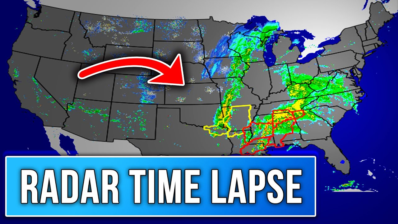 2020 Severe Weather Season Radar Time Lapse