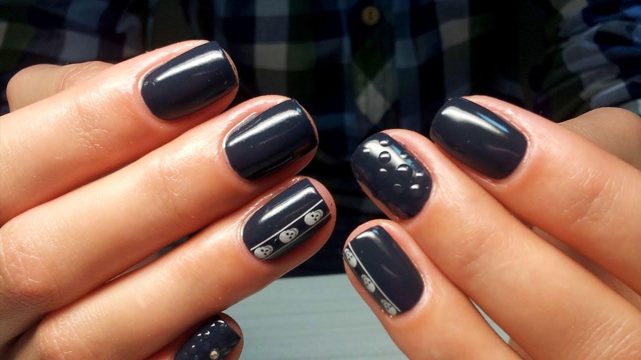 Френч На Короткие Ногти Фото Дизайн