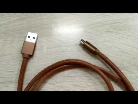 Leather Metal USB Cable - Shenzhen Shujia Technology Co., Ltd.