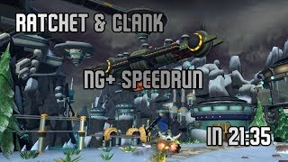 Ratchet & Clank - NG+ Speedrun in 21:35
