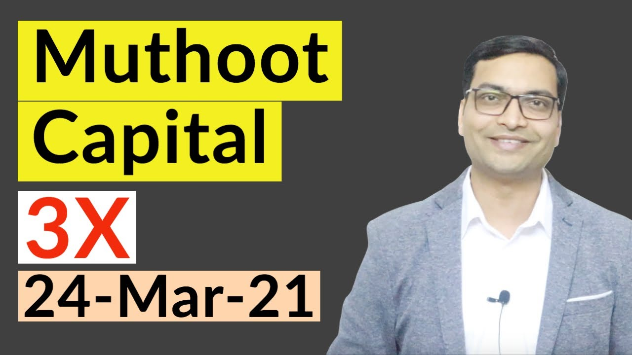 Best Small Cap Share for 2021 - Muthoot Capital
