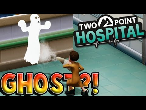 GHOST HAUNTING MY 3 STAR HOSPITAL? - Two Point Hospital Gameplay