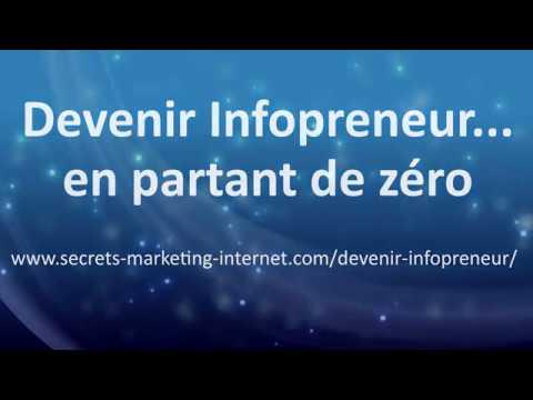 Devenir Infopreneur En Partant De Zéro