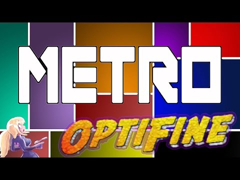 Minecraft - Metro (OPTIFINE UPDATE) 1.8 - 1.8.9 Hacked Client - WiZARD HAX