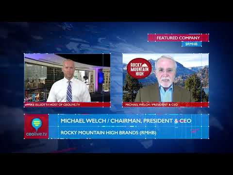 Rocky Mountain High Brands (RMHB) Updates Investors on CEOLIVE.TV