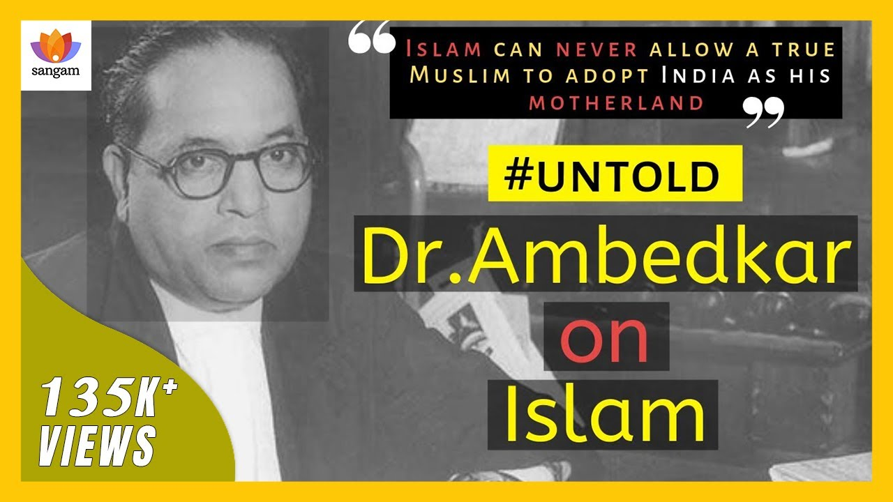 Dr. B.R Ambedkar's Views on Jihad and Muslim Canon Law | Anand ...
