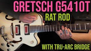 Tru-Arc Bridge on Gretsch G5410T Rat Rod