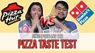 Singaporeans Try: Singapore Delivery Pizza