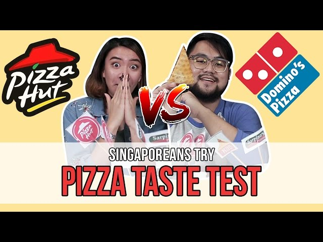 Singaporeans Try: Singapore Delivery Pizza 'Blind' Taste Test   EP 95