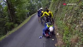 Chute/Fall Cyclisme Compil#2 || Tour de France 2017