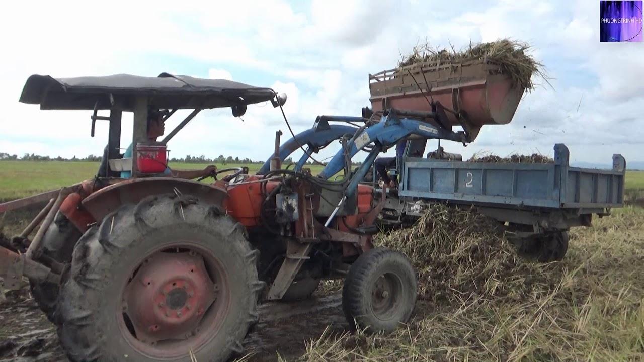 Nông dân Việt Nam tự chế máy xúc đất cực nhanh quá thông minh - Vietnamese farmers-