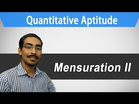 Best Quantitative Aptitude tricks for(IBPS PO/SBI/GRE/CAT/competitive exams) : - Mensuration