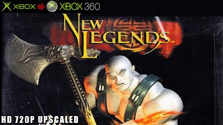 New Legends - Gameplay Xbox HD 720P (Xbox to Xbox 360)