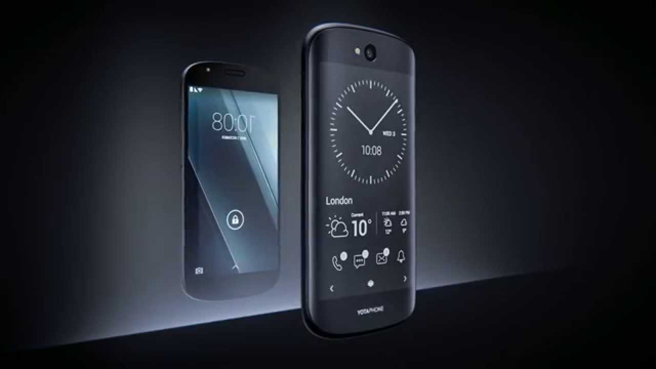 YOTAPHONE 2 : The phone with two fronts
