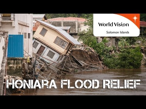 Honiara Flood Relief | World Vision