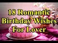 18 Romantic Birthday...