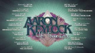 Aaron Keylock - UK Tourdates