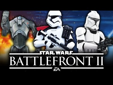 Star Wars Battlefront 2 News - How All Three Eras Work on Maps, Modes and Soldier Trooper Skins!